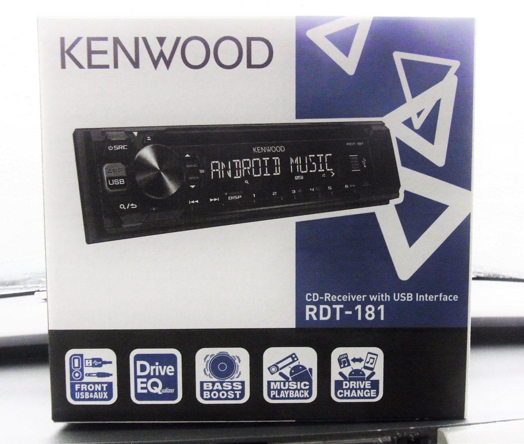 【施工例】ワゴンRに社外オーディオを取付☆[KENWOOD:RDT-181]