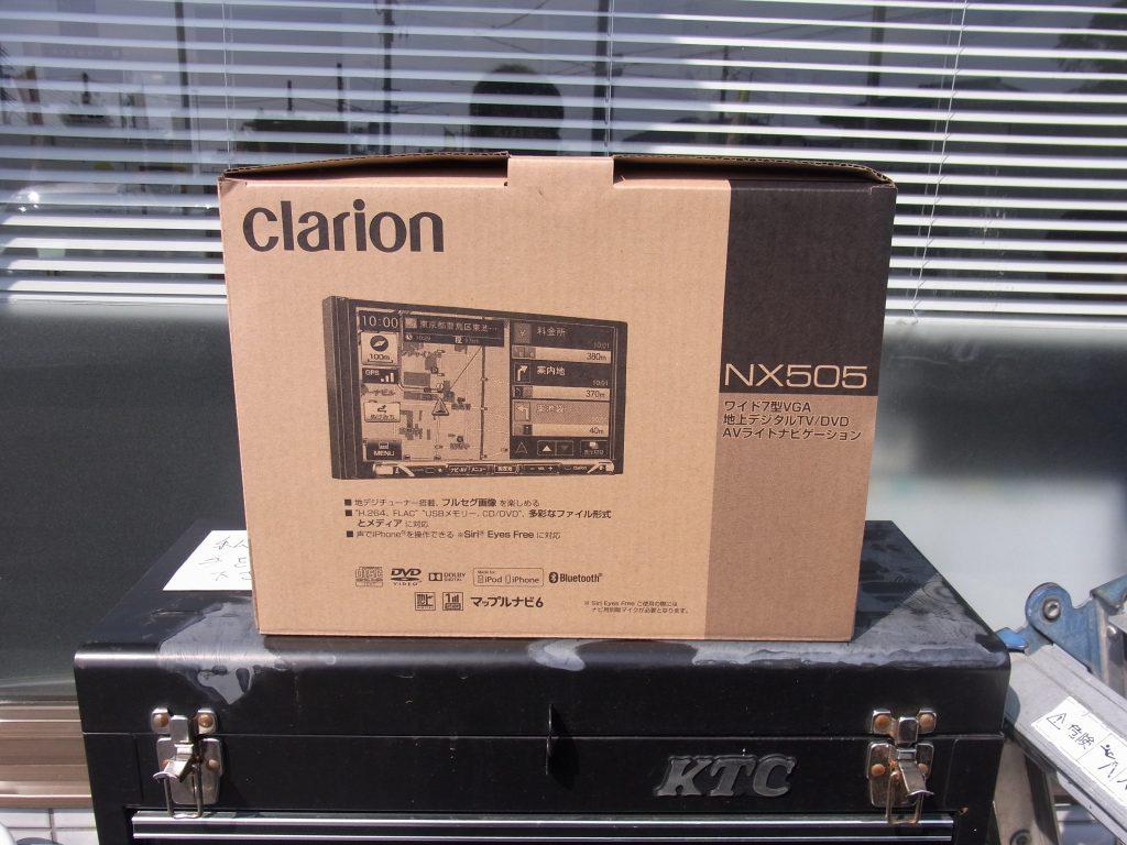 【施工例】TVがきれい~☆ フルセグナビ&ETC取付[clarion:NX505]